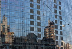 Refracted reflection Royalty Free Stock Photography