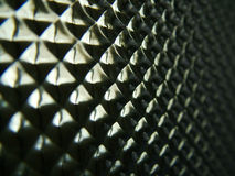 Refracting Pattern. Macro of translucent floating ceiling tile Royalty Free Stock Images