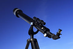 Refracting Telescope Stock Photo
