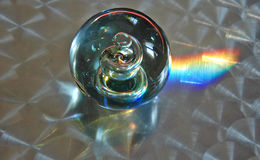 Refraction claro Foto de Stock Royalty Free