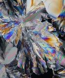 Refraction claro nos cristais Fotografia de Stock Royalty Free