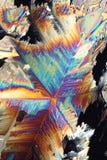 Refraction de cristal colorido imagens de stock royalty free