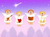 Refrein van engelen royalty-vrije illustratie
