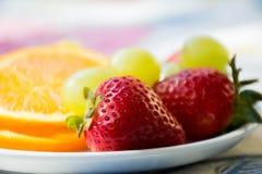 Refresca e café da manhã suculento imagem de stock royalty free