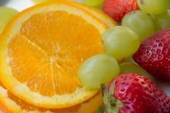 Refresca frutos suculentos Fotos de Stock Royalty Free