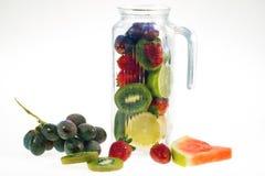 Refrescamento das frutas Fotografia de Stock