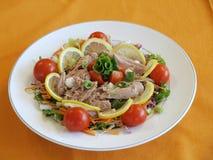 Refrescando, salada saboroso Fotografia de Stock