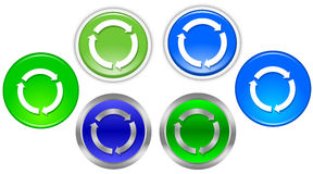 Refresh button Royalty Free Stock Photo