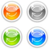 Refresh buttons. Royalty Free Stock Photo
