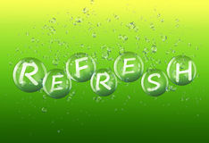 Refresh concept. Stock Photos