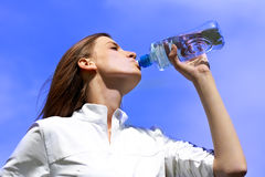 Refresh after fitness Royalty Free Stock Image
