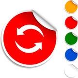 Refresh  icon. Royalty Free Stock Photos