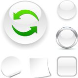 Refresh  icon. Royalty Free Stock Images