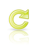 Refresh icon. In editable  format Stock Photo