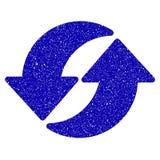 Refresh Icon Grunge Watermark Stock Image