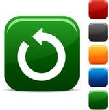 Refresh icons. Refresh icon set. Vector illustration Royalty Free Stock Photo