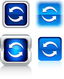 Refresh  icons. Royalty Free Stock Photography