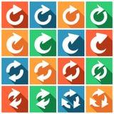 Refresh icons Stock Photo
