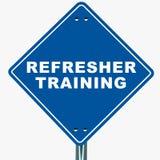 Refresher training Royalty Free Stock Photos