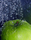 Refreshing apple Royalty Free Stock Photos
