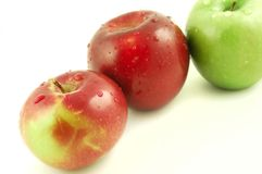 Refreshing Apples Stock Photos