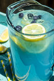 Refreshing Blueberry Lemonade Summer Drinks Royalty Free Stock Photo