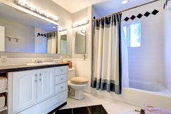 Refreshing bright bathroom interior Stock Image