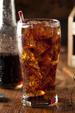Refreshing Bubbly Soda Pop Stock Image
