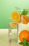 Refreshing citrus drink Stock Images