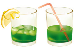 Refreshing cocktail Stock Photos