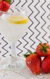 Refreshing cocktail Royalty Free Stock Image
