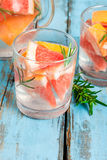 Refreshing cocktail of grapefruit and rosemary Royalty Free Stock Image