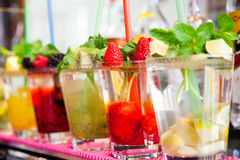 Refreshing cocktail Royalty Free Stock Photography