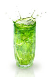 Refreshing cocktail with mint and lime Royalty Free Stock Photography
