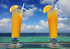 Refreshing cocktails Stock Photos