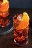 Refreshing Cold Americano Cocktail Royalty Free Stock Images