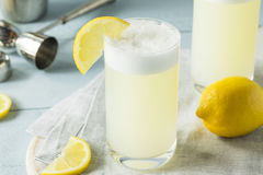 Refreshing Cold Egg Gin Fizz Royalty Free Stock Photos