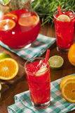 Refreshing Cold Fruit Punch Royalty Free Stock Photos