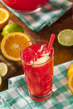 Refreshing Cold Fruit Punch Royalty Free Stock Photography