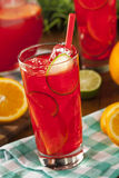 Refreshing Cold Fruit Punch Royalty Free Stock Images