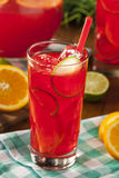 Refreshing Cold Fruit Punch Royalty Free Stock Photo