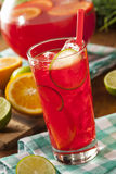 Refreshing Cold Fruit Punch Stock Photography