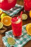 Refreshing Cold Fruit Punch Stock Photos