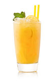 Refreshing cold lemon Cocktail Royalty Free Stock Photos