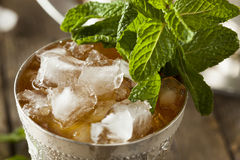 Refreshing Cold Mint Julep Stock Photography