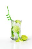 Refreshing cold mojito drink Royalty Free Stock Photos