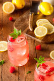Refreshing Cold Raspberry Lemonade Royalty Free Stock Photography