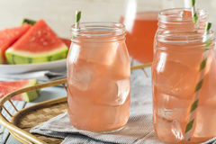 Refreshing Cold Watermelon Juice Stock Images