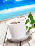 Refreshing cup of coffee Royalty Free Stock Photos