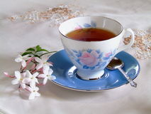Refreshing Cup of Tea Stock Photos